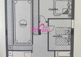 Vente,Appartement 98 m² NEJMA,Tanger,Ref: VA319 2 Bedrooms Bedrooms,1 BathroomBathrooms,Appartement,NEJMA,1938